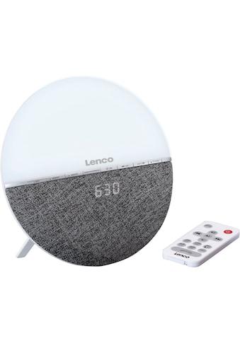 Lenco Radiowecker »CRW-4«, (Bluetooth FM-Tuner 6 W) kaufen