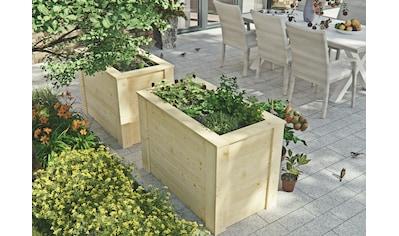 Kiehn-Holz Hochbeet, BxTxH: 104x57x70 cm kaufen