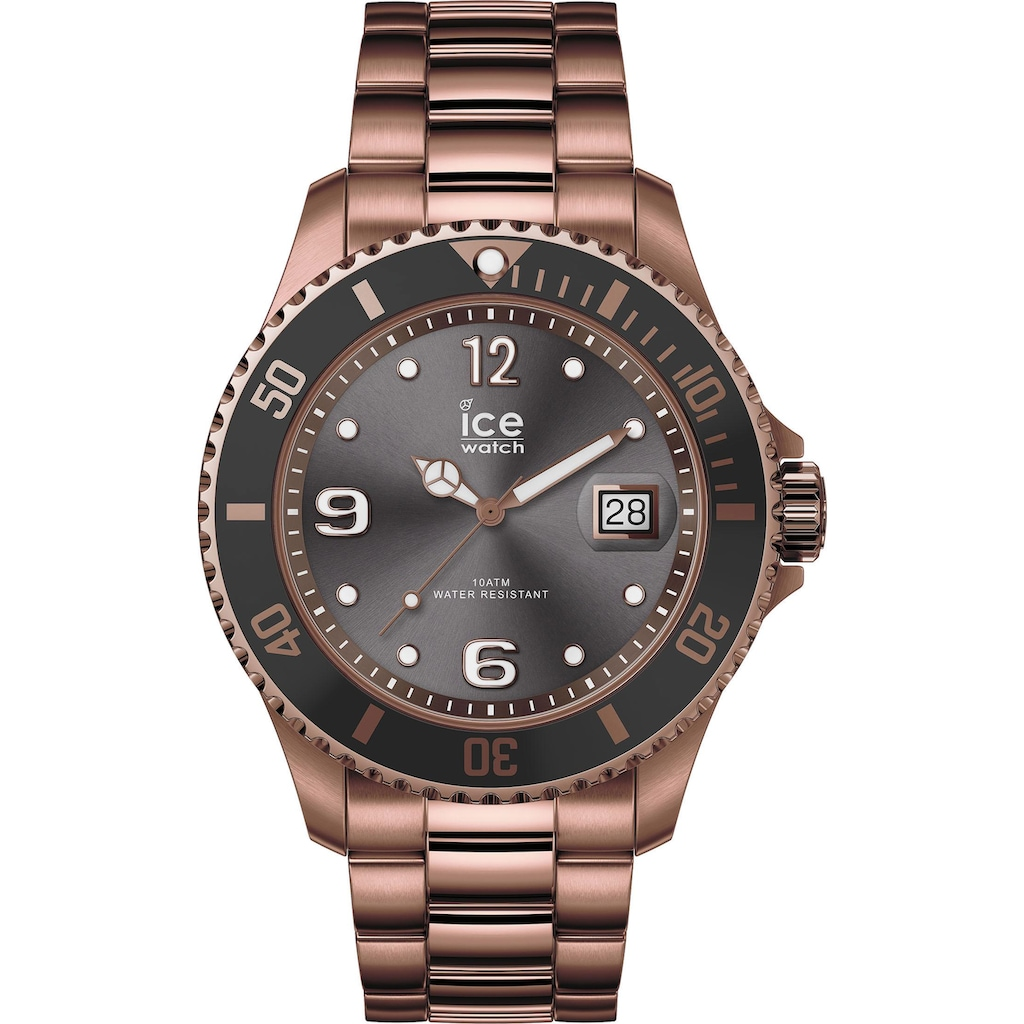 ice-watch Quarzuhr »ICE steel - Bronze - Large - 3H, 16767«