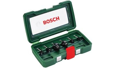 BOSCH Set: Fräsbohrer 6 - tlg., 6 mm Schaft kaufen
