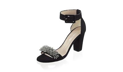 Alba Moda Sandaletten aus Ziegenveloursleder kaufen