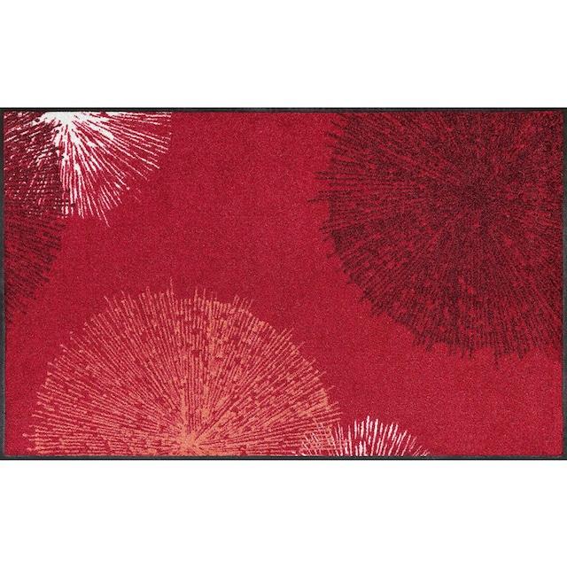 Läufer, »Firework«, wash+dry by Kleen-Tex, rechteckig, Höhe 7 mm, gedruckt