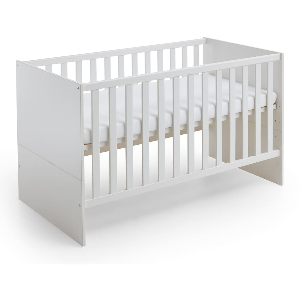 arthur berndt Babyzimmer-Komplettset »Liam«, (Set, 3 St.), Made in Germany; mit Kinderbett, Schrank und Wickelkommode
