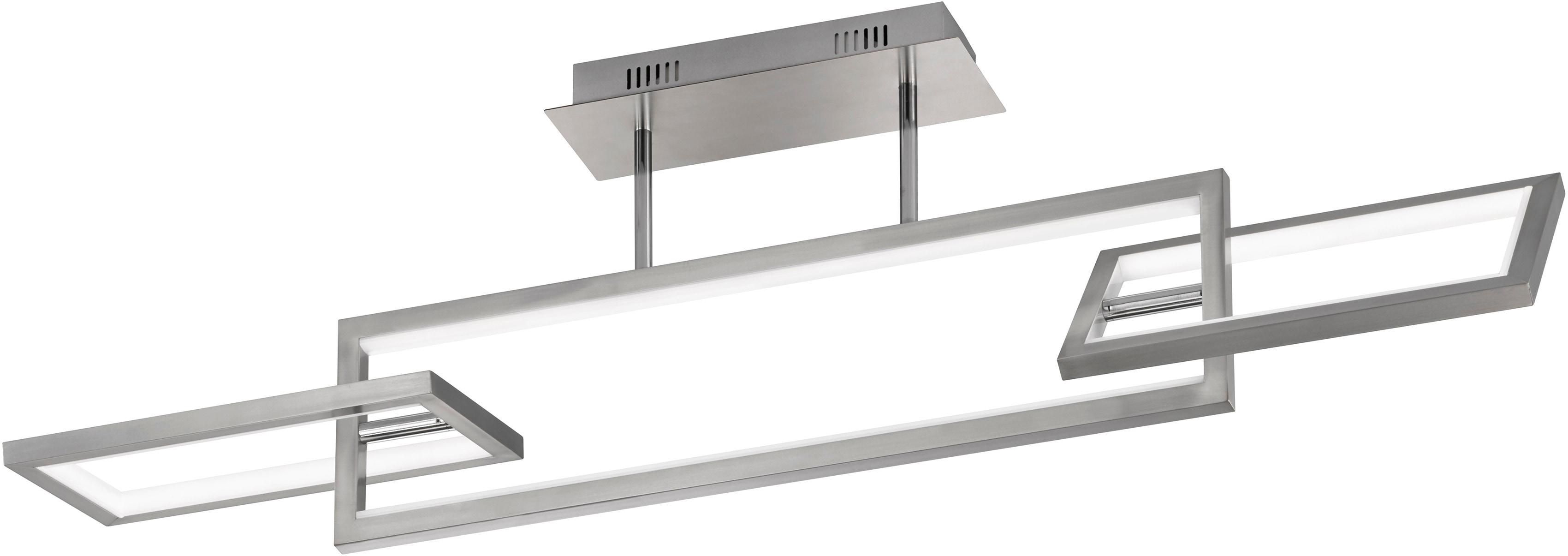 WOFI LED Deckenleuchte MURIEL, LED-Board, Warmweiß, dimmbar mittels 3-Stufen-Wandschalter