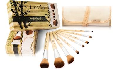 """Luvia Cosmetics Kosmetikpinsel - Set """"Bamboo's Leaf"""", 8 - tlg., mit Aufbewahrungstasche kaufen"""