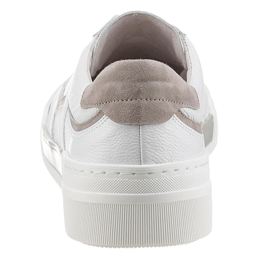Gabor Sneaker, mit Kontrastbesatz
