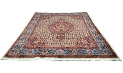 morgenland Wollteppich »Moud Teppich handgeknüpft beige«, rechteckig, 12 mm Höhe kaufen