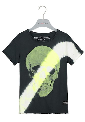 Key Largo T-Shirt, mit coolem Totenkopf-Print kaufen