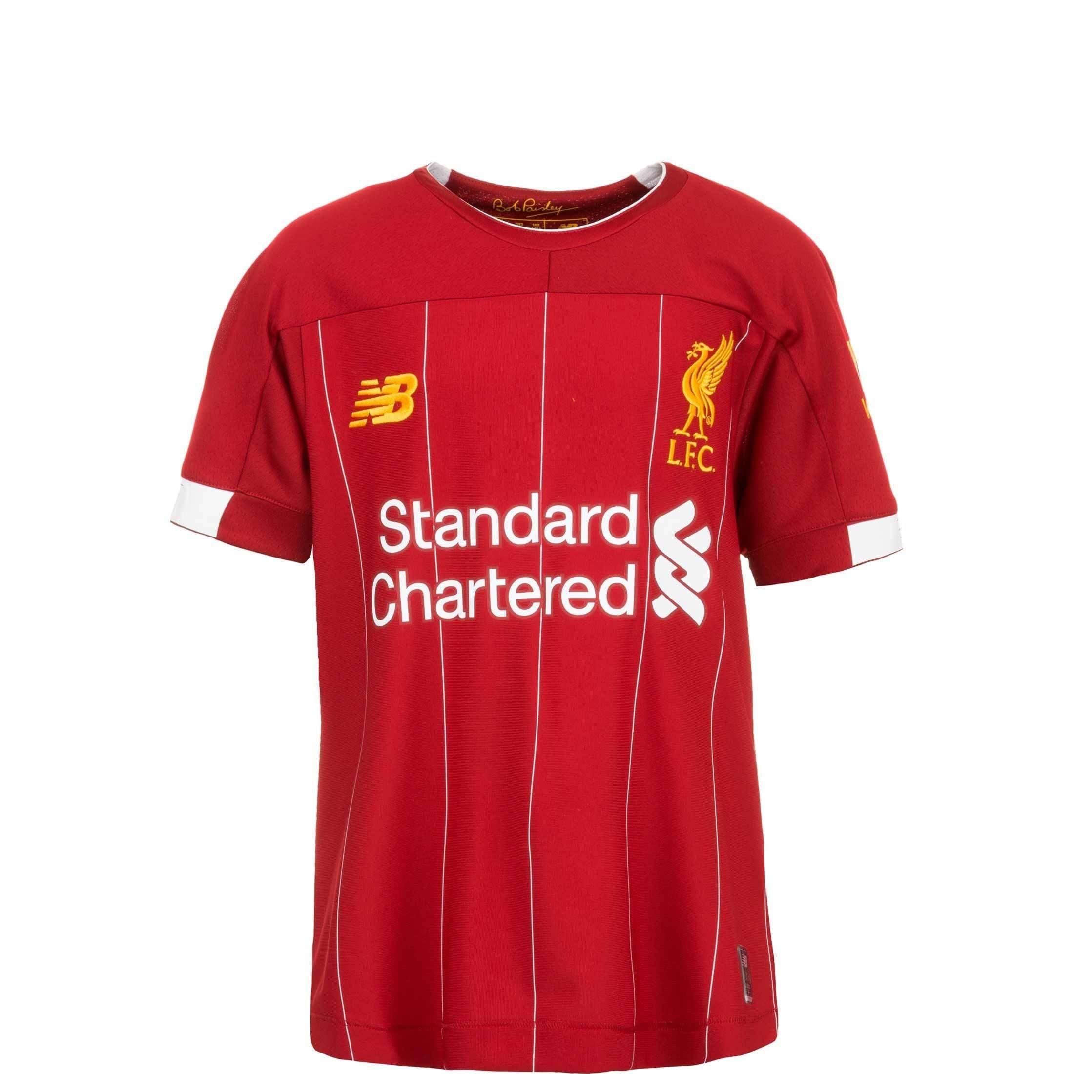 New Balance Fußballtrikot Fc Liverpool 19/20 Heim | Sportbekleidung > Trikots | New Balance
