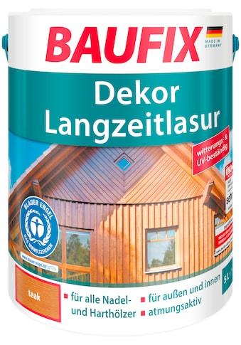 BAUFIX Holzschutz - Lasur »Teak«, Dekor - Langzeitlasur kaufen