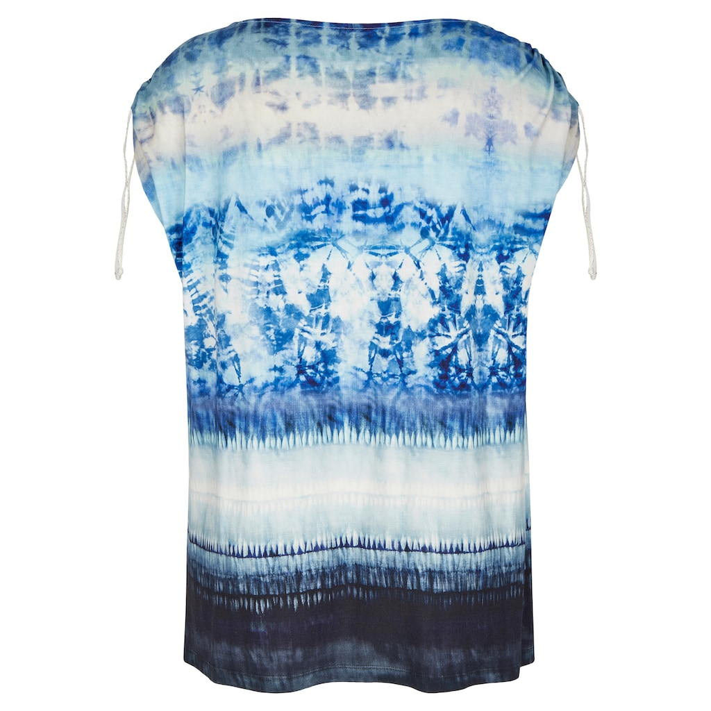 VIA APPIA DUE Sommerliches Top mit Batik-Muster