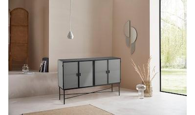 LeGer Home by Lena Gercke Sideboard »Almira«, Türen mit Riffelglas, Zeitloses Design,... kaufen