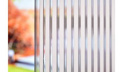 GUTTA Anbaudach »Bedachungs-Set Zebraplatte«, Hohlkammerplatten mit Profilen,... kaufen