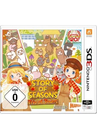 Nintendo 3DS Spiel »Story Of Seasons Trio Of Towns«, Nintendo 3DS kaufen