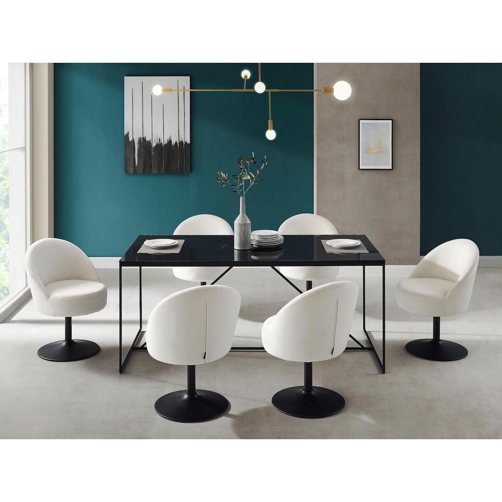 INOSIGN Drehstuhl »Taurin«, in modernem Design, Drehfunktion
