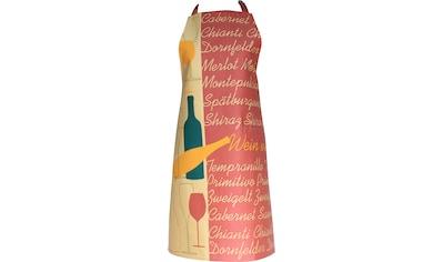 stuco Kochschürze »Vino«, (1 tlg.) kaufen