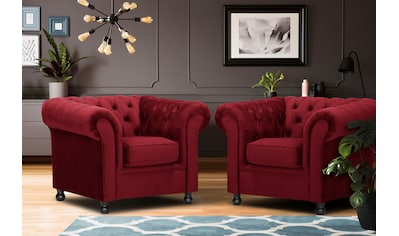 Home affaire Sessel »Chesterfield Home«, mit edler Knopfheftung und typischen Armlehnen kaufen