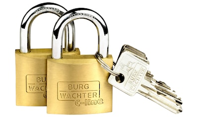 Burg Wächter Vorhängeschloss »Duo 222 40 SB« kaufen