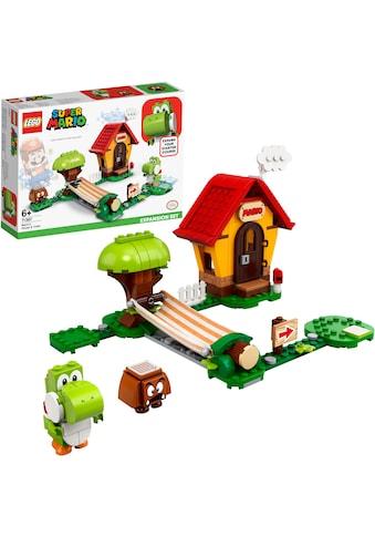 """LEGO® Konstruktionsspielsteine """"Marios Haus und Yoshi – Erweiterungsset (71367), LEGO® Super Mario"""", Kunststoff, (205 - tlg.) kaufen"""