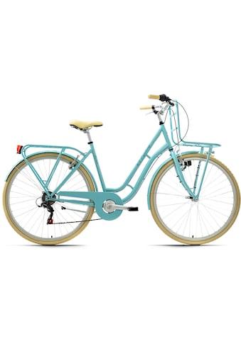 KS Cycling Cityrad »Swan«, 6 Gang Shimano Tourney Schaltwerk, Kettenschaltung kaufen