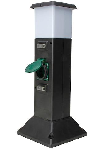 Kopp Gartensteckdose »Energies., 2xStd,+LED«, mit Beleuchtung kaufen