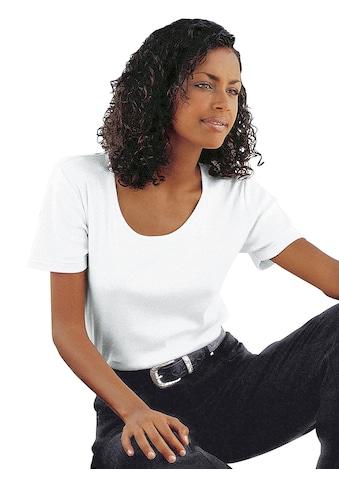 Casual Looks  Kurzarm - Shirt aus atmungsaktiver, hautsympathischer Qualität kaufen