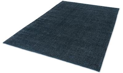 SCHÖNER WOHNEN-Kollektion Teppich »Aura«, rechteckig, 15 mm Höhe, seidige Viskose, Wohnzimmer kaufen