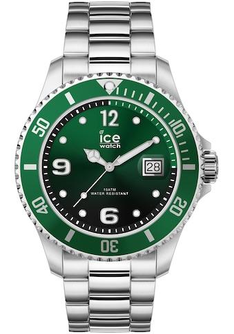ice-watch Quarzuhr »ICE steel - Green Silver - Medium - 3H, 16544« kaufen