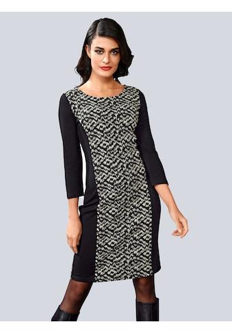 Alba Moda Kleid in strukturierter Sweatqualität kaufen