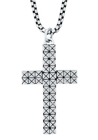 True Rebels Kette mit Anhänger »Kreuz, 50060022« kaufen