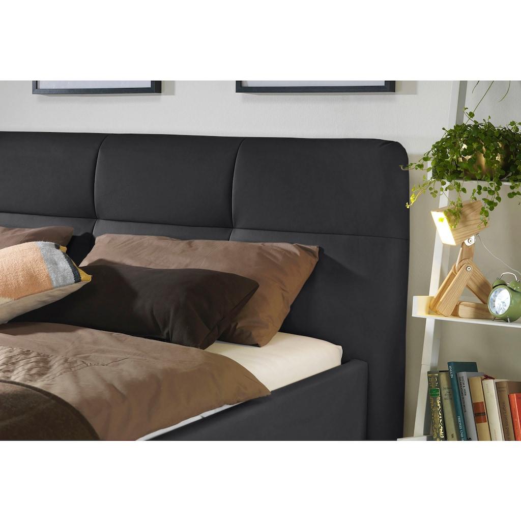 ADA trendline Polsterbett »Peggy«, wahlweise mit Matratze und Lattenrost, in verschiedenen Größen und Härtegraden