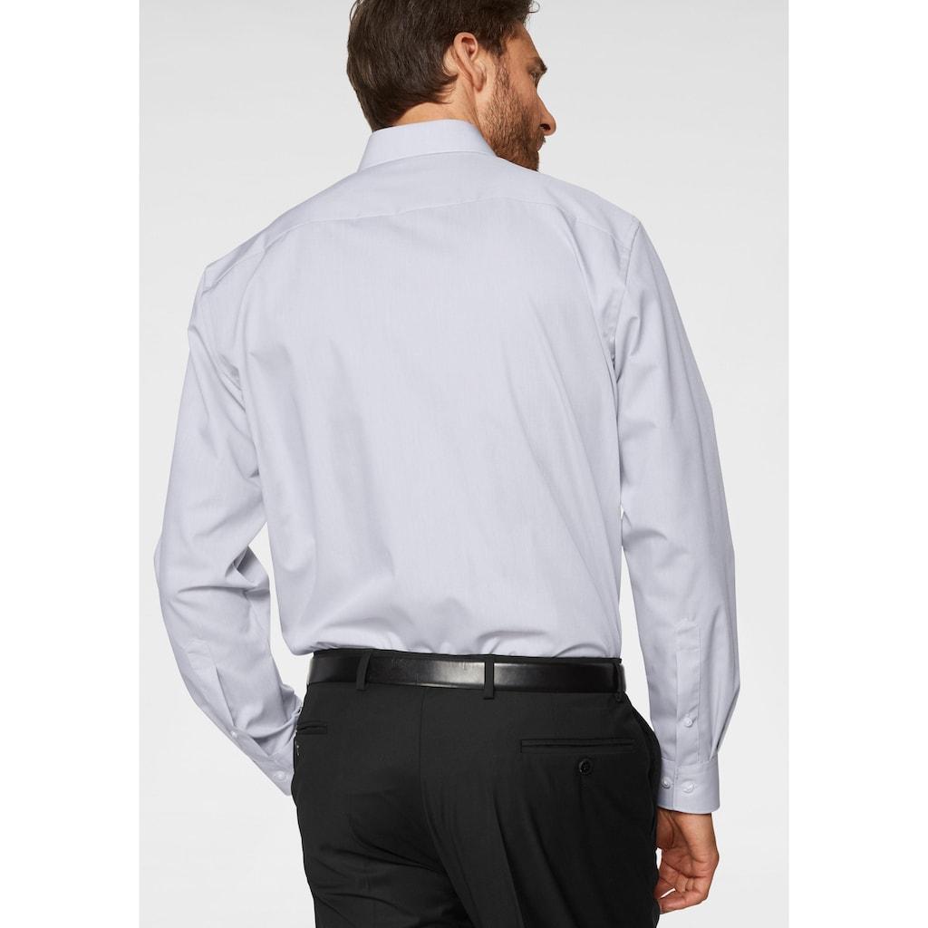 OLYMP Businesshemd »Luxor comfort fit«, unifarben, bügelfrei, mit Brusttasche