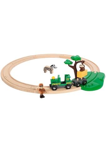 BRIO® Spielzeug-Eisenbahn »BRIO® WORLD Safari Bahn Set«, FSC®-Holz aus gewissenhaft... kaufen