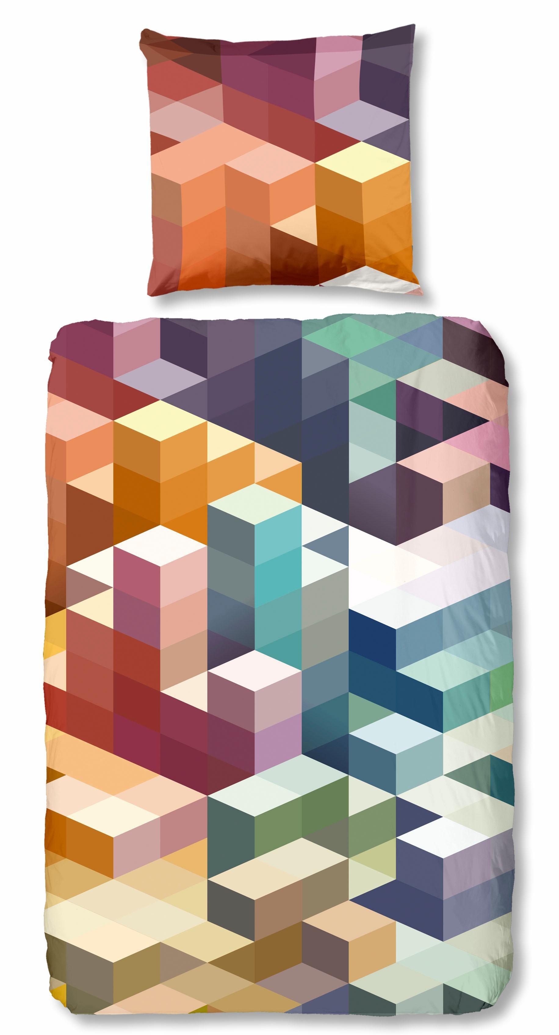 Bettwäsche Cubes good morning