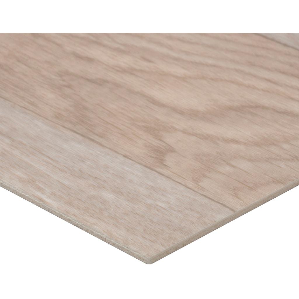 Bodenmeister Vinylboden »PVC Bodenbelag Schiffsboden Eiche«, Meterware, Breite 200/300/400 cm