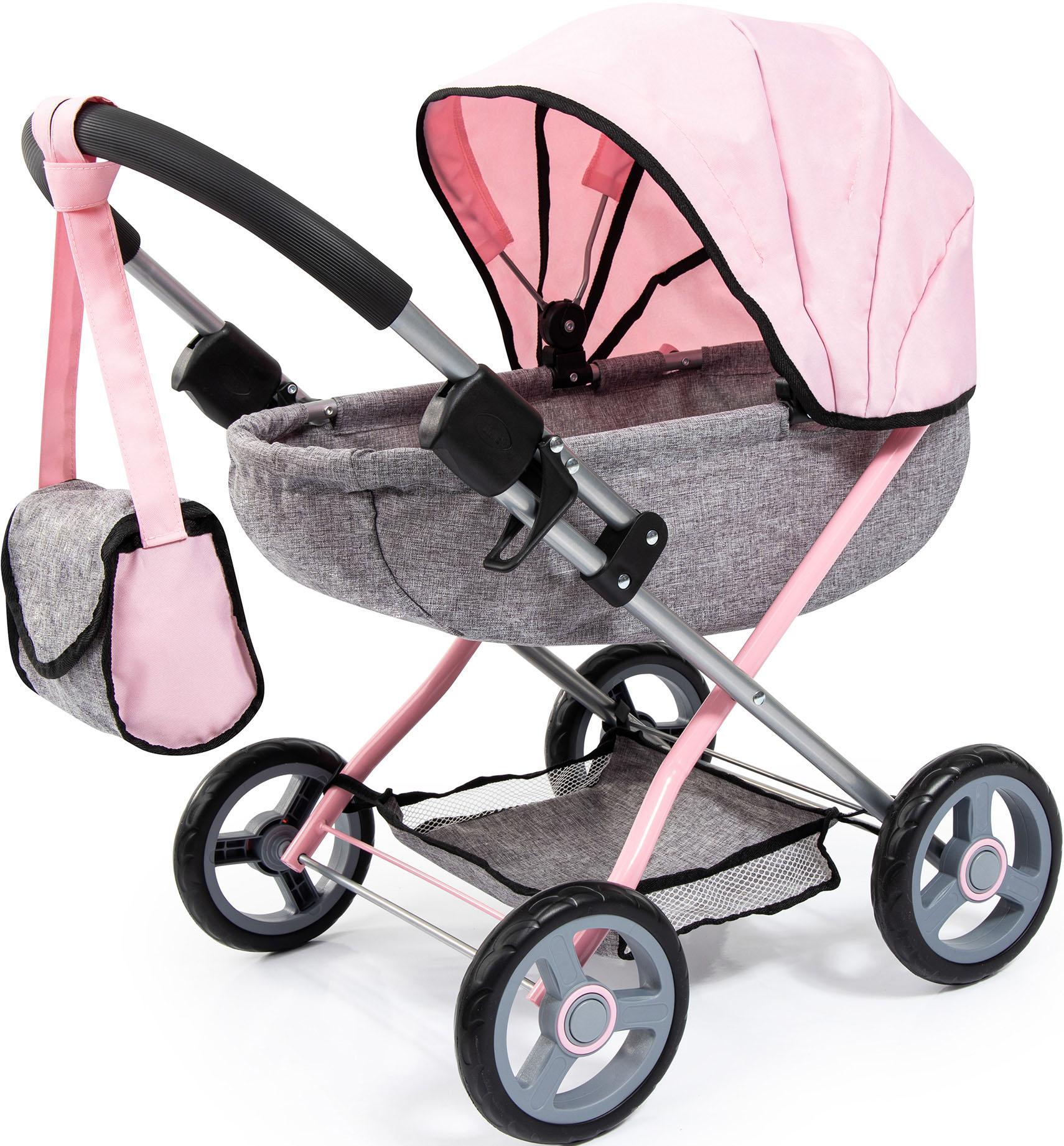 Bayer Puppenwagen Cosy, grau Kinder Puppenzubehör Puppen