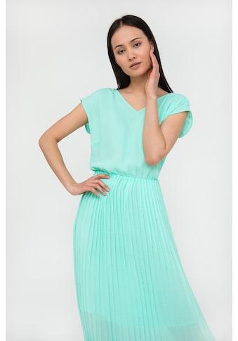 Finn Flare Jerseykleid, mit V-Ausschnitt kaufen