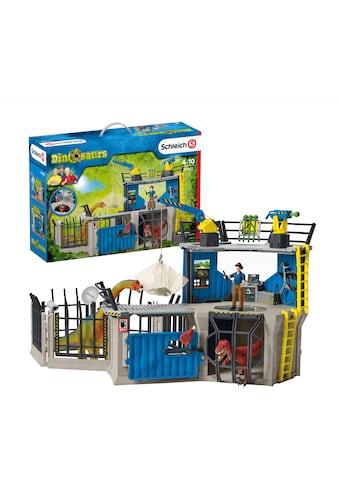 """Schleich® Spielwelt """"Dinosaurs, Große Dino - Forschungsstation (41462)"""", (Set kaufen"""