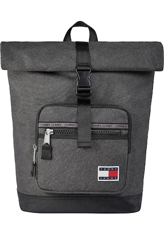 Tommy Jeans Cityrucksack »TJM CASUAL ROLL TOP MELANGE«, mit Laptopfach und Roll Top kaufen