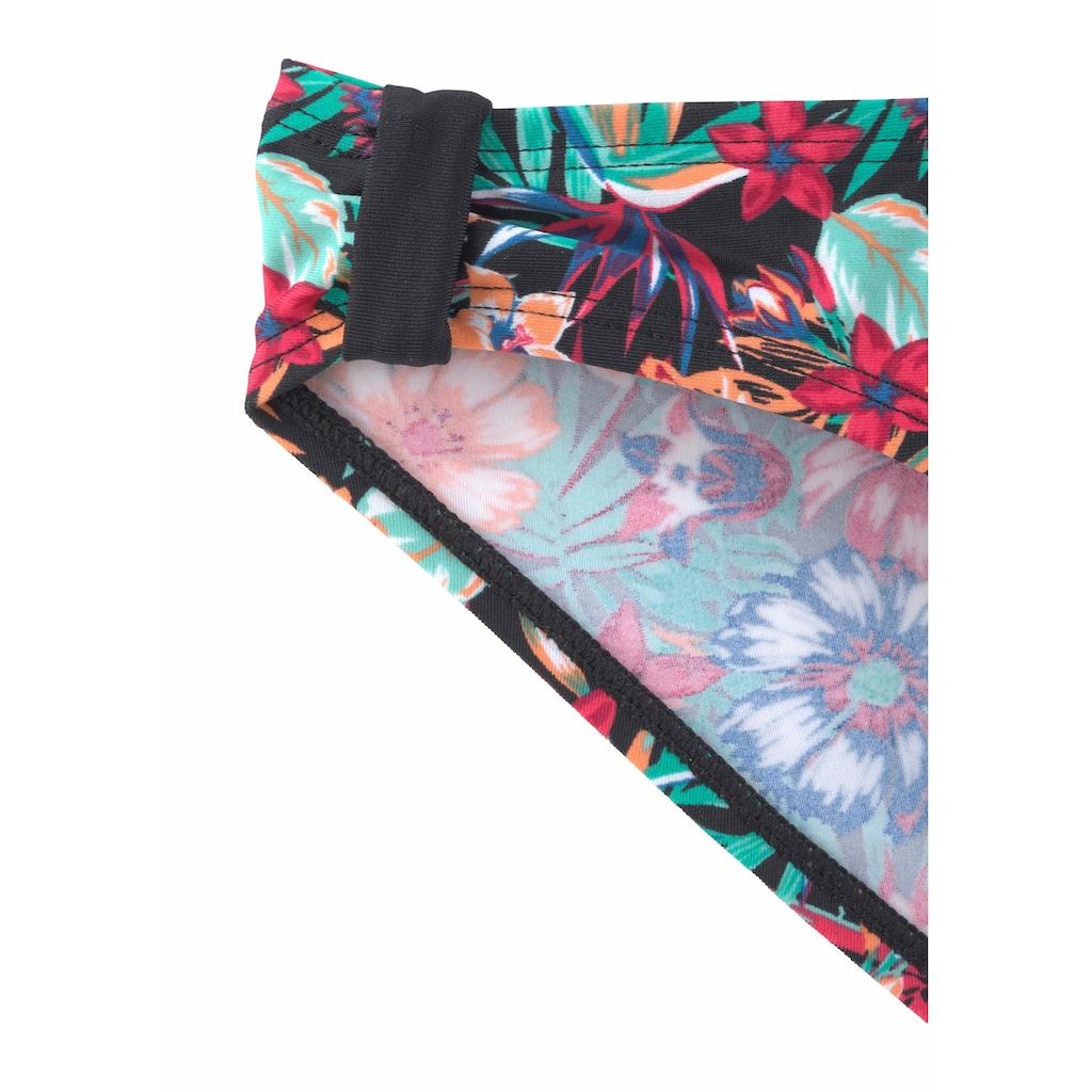 KangaROOS Bandeau-Bikini, mit seitlichen Zierschlaufen