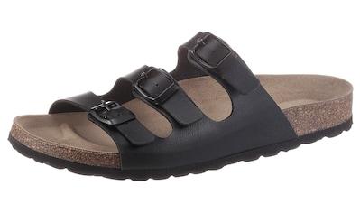 Bio Time Pantolette, mit Veloursleder-Fußbett kaufen