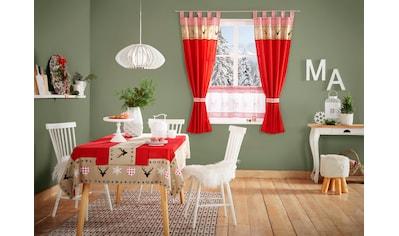 Vorhang, »Xaver«, my home, Schlaufen 1 Stück kaufen