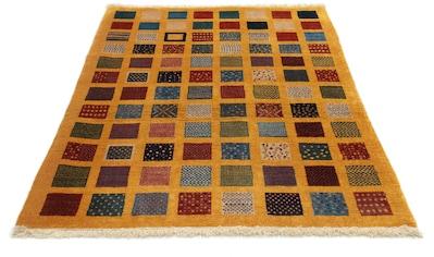 morgenland Wollteppich »Loribaft Teppich handgeknüpft 0«, rechteckig, 18 mm Höhe,... kaufen