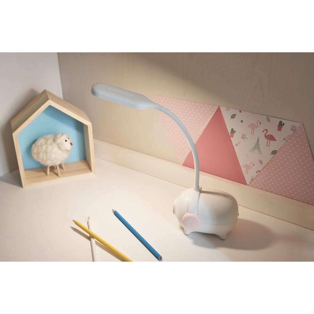 Pauleen LED Schreibtischlampe »Sweet Little Pig«, Warmweiß-Kaltweiß-Neutralweiß, Schwein