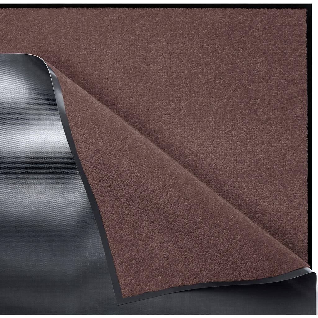 Home affaire Läufer »Triton«, rechteckig, 7 mm Höhe, Schmutzfangläufer, Schmutzfangteppich, Schmutzmatte, In- und Outdoor geeignet, waschbar
