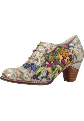 LAURA VITA Schnürpumps »Leder/Textil« kaufen