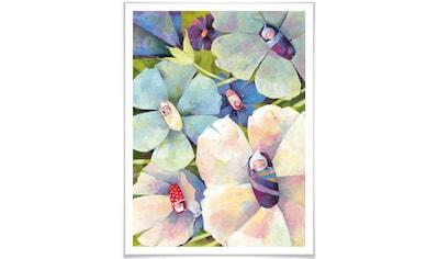 Wall-Art Poster »Märchen Wandbilder Blütenbabies«, Pflanzen, (1 St.), Poster,... kaufen