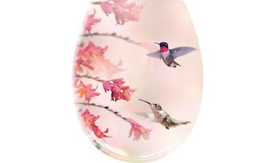 Kleine Wolke WC-Sitz »Kolibri«, Eleganter WC-Sitz aus Duroplast kaufen