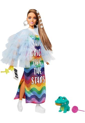 Barbie Anziehpuppe »EXTRA«, mit Regenbogen-Kleid kaufen