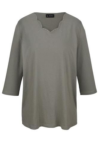 m. collection Shirt mit modischer Ausschnittvariante kaufen